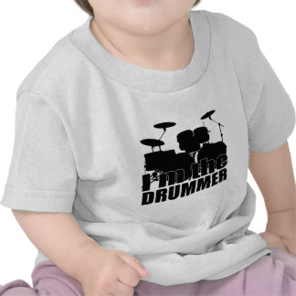 Eu sou o baterista tshirt