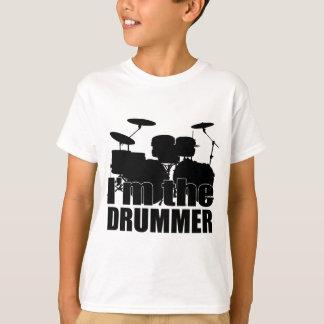 Eu sou o baterista camiseta