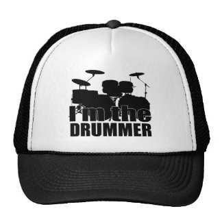 Eu sou o baterista boné