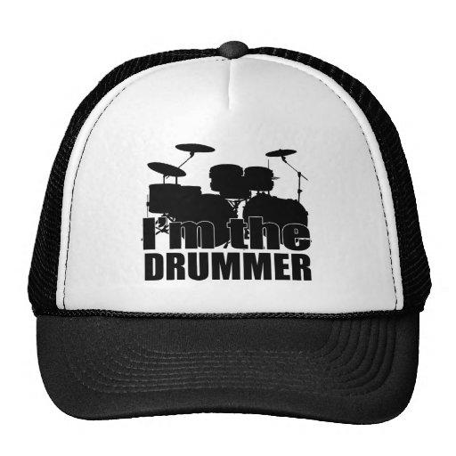 Eu sou o baterista bonés