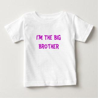 Eu sou o big brother camiseta para bebê