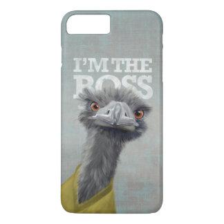 Eu sou o chefe. Avestruz Capa iPhone 7 Plus