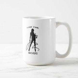 EU SOU O CHEFE CANECA DE CAFÉ