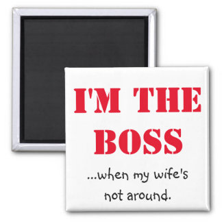 Eu sou o chefe imã