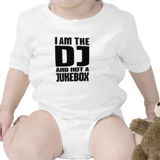 Eu sou o DJ não um jukebox Macacãozinhos Para Bebê