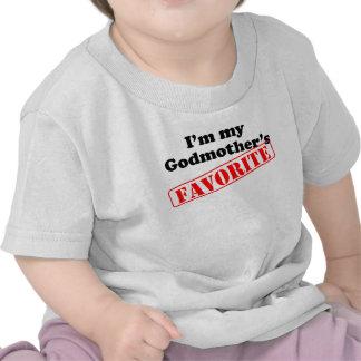 Eu sou o favorito da minha madrinha t-shirt