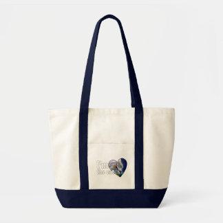 Eu sou o gato bolsa para compras
