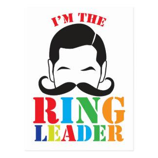 Eu sou o LÍDER de ANEL com o bigode masculino do h