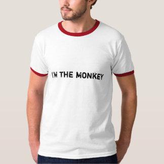 Eu sou o macaco camiseta