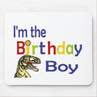Eu sou o menino do aniversário mouse pad