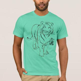 eu SOU o tigre Camiseta