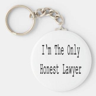 Eu sou o único advogado honesto chaveiros