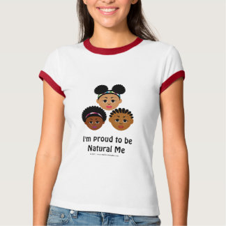 Eu sou orgulhoso ser natural mim T básico Camisetas
