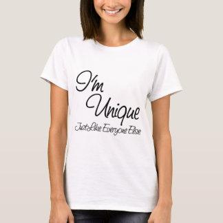 Eu sou original (apenas como todos mais) camiseta