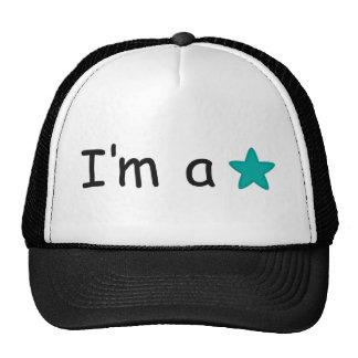 Eu sou presentes de uma estrela customisable boné