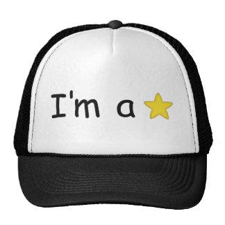 Eu sou presentes de uma estrela para toda a boné