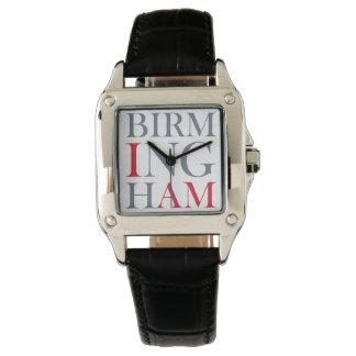 Eu sou relógio de Birmingham