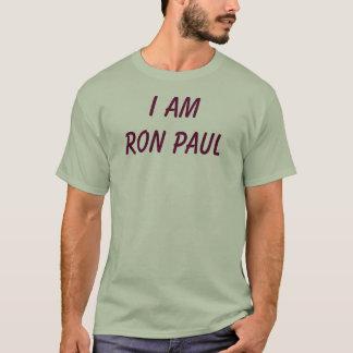 Eu sou Ron Paul Camiseta