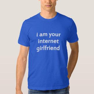 eu sou seu namorada do Internet Tshirt