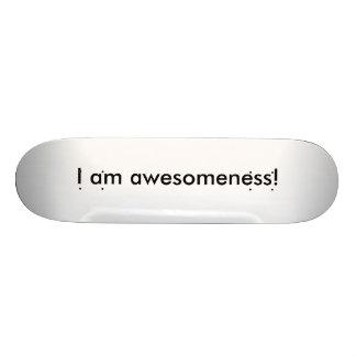 Eu sou skate de Awesomeness