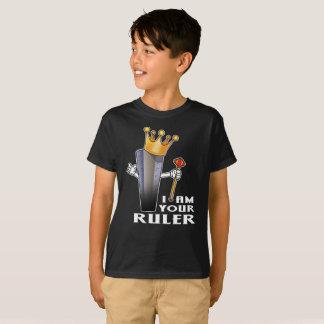 Eu sou sua camisa da escola da régua