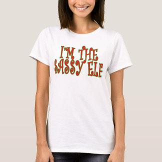 Eu sou T Sassy do duende. .png Camiseta
