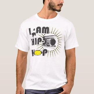 EU SOU t-shirt do HIP-HOP Camiseta