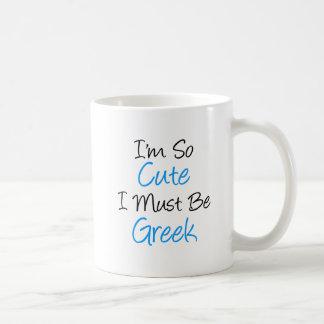 Eu sou tão bonito eu devo ser caneca grega