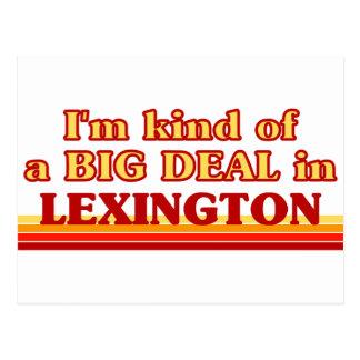 Eu sou tipo de uma GRANDE COISA em Lexington Cartão Postal