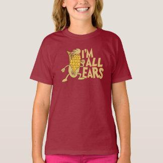 Eu sou todo o gráfico bonito da piada dos desenhos camiseta