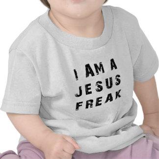 Eu sou um anormal de Jesus Tshirts
