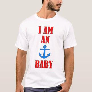 Eu sou um bebê da âncora camiseta