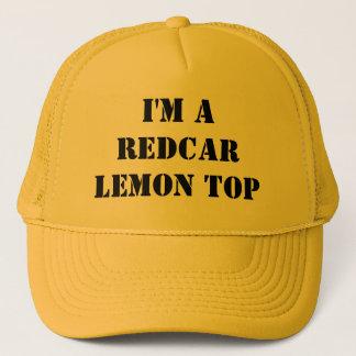 Eu sou um boné da parte superior do limão de