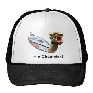 Eu sou um chapéu do barco do dragão do campeão boné