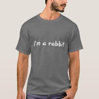 Eu sou um coelho camiseta