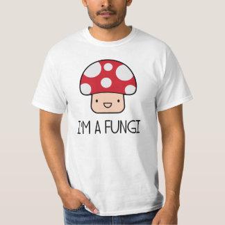Eu sou um cogumelo da cara do divertimento dos camiseta