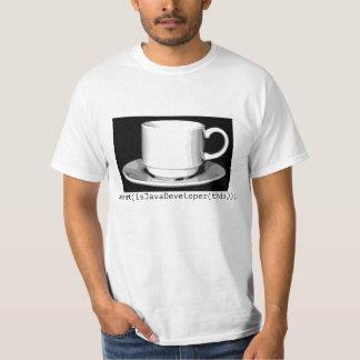 Eu sou um colaborador de java camiseta
