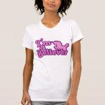 Eu sou um crente nos unicórnios camiseta