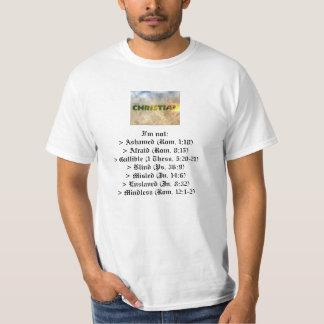 Eu sou um cristão (com relações da Web) Tshirt