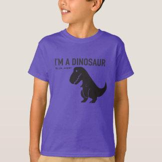 Eu sou um dinossauro camiseta