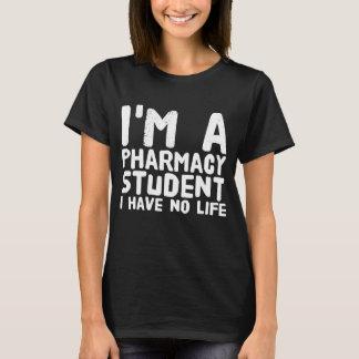 Eu sou um estudante que da farmácia eu não tenho camiseta