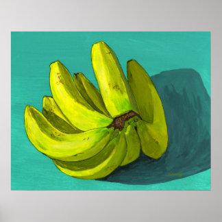 Eu sou um fã 'O a banana Pôster