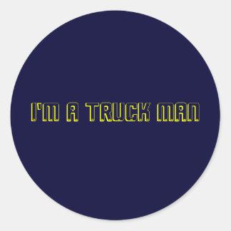 Eu sou um homem do caminhão adesivo