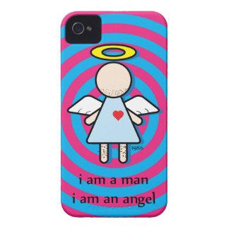 eu sou um homem, mim sou um capa de iphone 4 capa para iPhone 4 Case-Mate