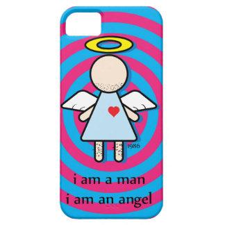 eu sou um homem, mim sou um exemplo engraçado do capa para iPhone 5