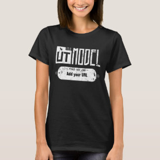 Eu sou um modelo de UT Tshirts