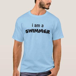 eu sou um NADADOR Camiseta