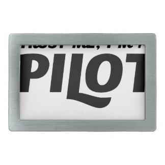Eu sou um piloto