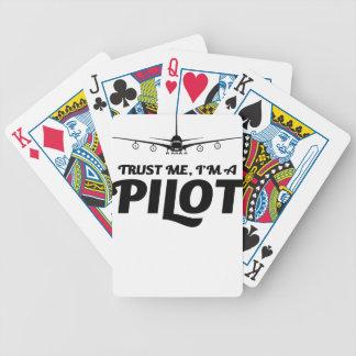Eu sou um piloto jogo de carta