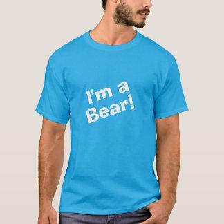 Eu sou um urso camiseta